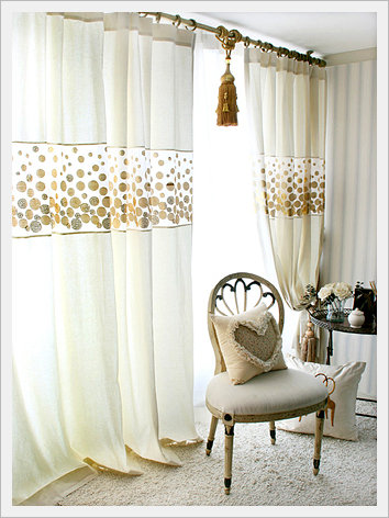 [Curtain] Shining Gold / Product No.12542